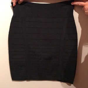 Rock republic black skirt